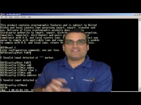 Basic Switch Configuration -mQ4WQrjmHpc