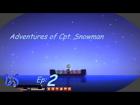 Adventures of Cpt. Snowman: Pixel Piracy Let's Play Ep:2 w/Demon Snowman