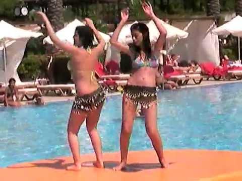 rixos مسابقه رقص عربی در انتالیا هتل dance arabic