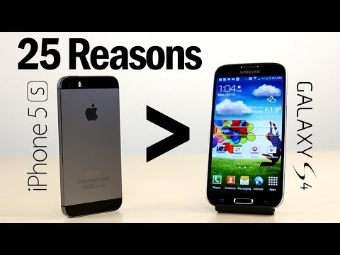 25 Reasons Why iPhone 5S Is Better Than Galaxy S4