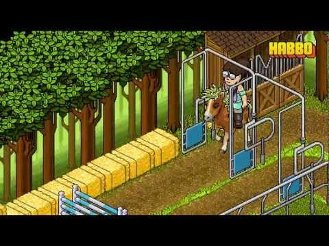 Habbo Horse Racing, Showcasing some upcoming horse related Furni and features. Horses can now jump! Coming soon to Habbo near you!