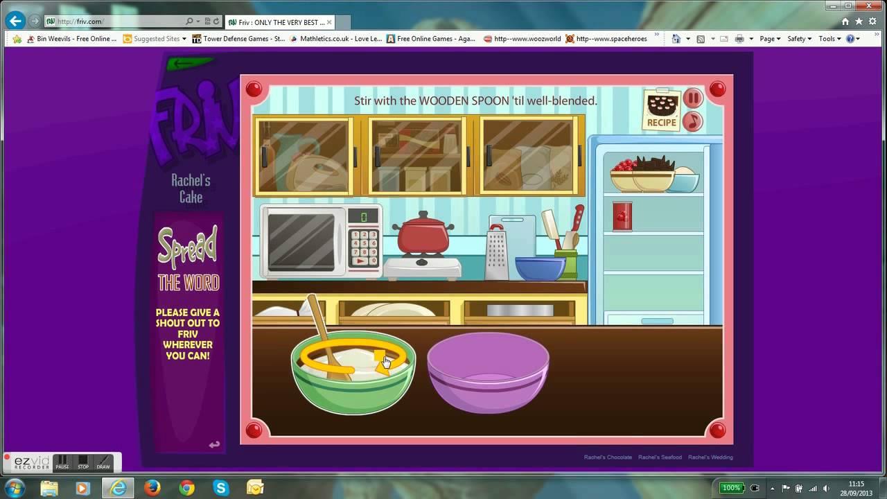 Rachel S Cake Game Friv