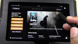 Kindle Fire HD: Amazon Prime Video Service