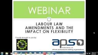 Labour Law Amendments And The Impact On Flexibility