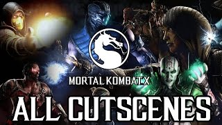 Mortal Kombat X FULL MOVIE (2015) All Cutscenes [1080p