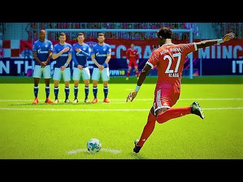 FIFA 18 TOP 25 BEST FREE KICK GOALS