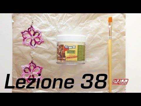 Chiacchierino Ad Ago - 38˚ Lezione Come Inamidare Indurire Colla Tatting Tutorial How To Stiffen