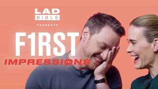 James McAvoy vs Sarah Paulson Play First Impressions