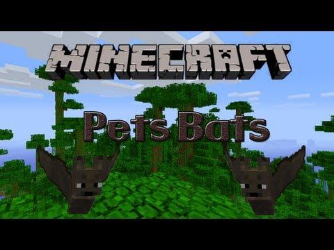 Minecraft Mod: Pets Bats ¡Domestica murciélagos!