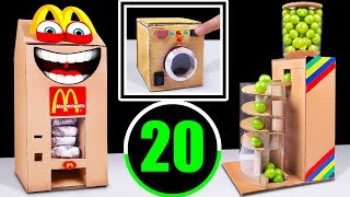 TOP 20 Incredible Cardboard Videos in The World