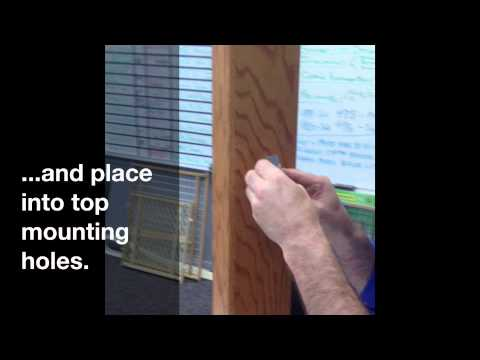 GuardMaster III 477, 480, 490 Tall Wood Slat Swing Gate Installation Instructions