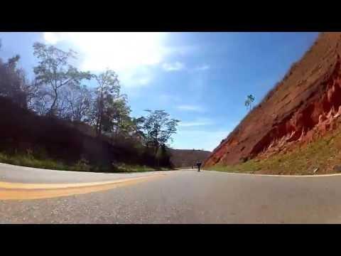 Aimores-MG - Skate Downhill Speed - Aleks Lourenço e Rafael Stein - Gopro car