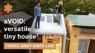How would a Swiss Army knife look if it were a tiny house