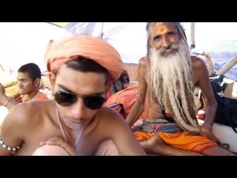 Smoking Baba Varanasi India March 2103