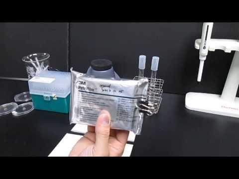 使用 3M Petrifilm AC 測定生菌數 (How to use 3M Petrifilm AC)