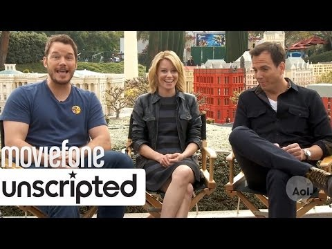 'The Lego Movie' Unscripted Interview | Moviefone