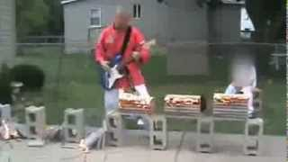 Russian Rock Guitar Karate