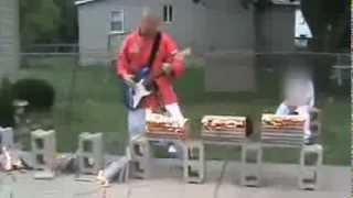 Russian Rock Guitar Karate