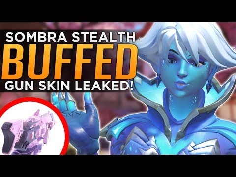 Overwatch: Sombra BUFFED Again! - Summer Event Skin LEAK!
