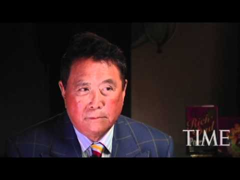 Robert Kiyosaki - Time Magazine Interview Rich Dad Poor Dad