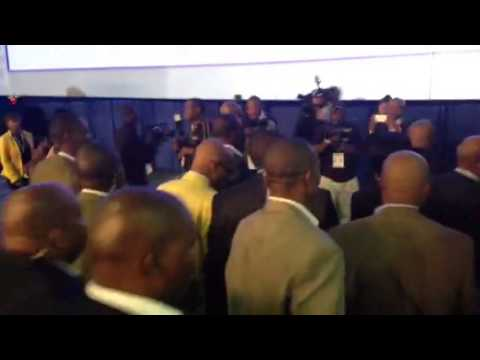 President Jacob Zuma visiting the Election centre