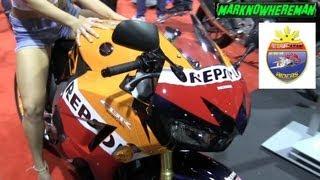 2013 Honda CBR 600RR Moto GP Repsol Edition & The Girl