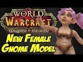 New Female Gnome Model - Blizzcon 2013 - World of Warcraft: Warlords of Draenor