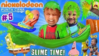 SLIME TIME @ NICKELODEON HOTEL PUNTA CANA!  FUNnel Vision says Goodbye (Part 5 w/ Recap & Review)