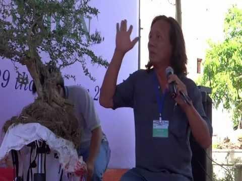 kỹ thuật làm lũa cây linh sam của Nghệ nhân Phạm Hữu Tâm (A. Trắng) f1.flv