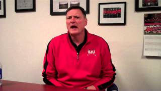 Interview w/SJU Head Golf Coach Bob Alpers - 2014 Spring Break