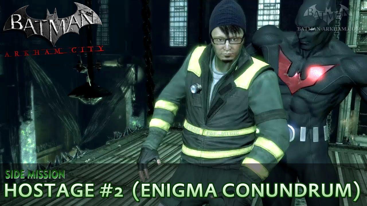 batman  arkham city - riddler hostage  2