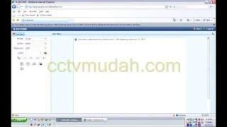 Cara Cctvmudah Lihat Cctv Online Pakai Internet Explorer
