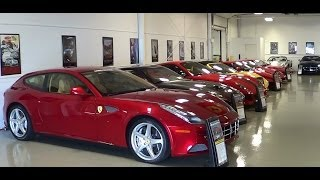 ferrari row lingenfelter private collection