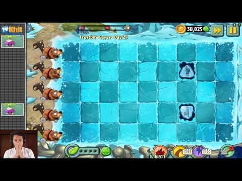 [Thai] Plants VS Zombies 2 ep105 - Frostbite Cave 24-25   by Khit TV