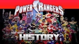 Power Rangers History