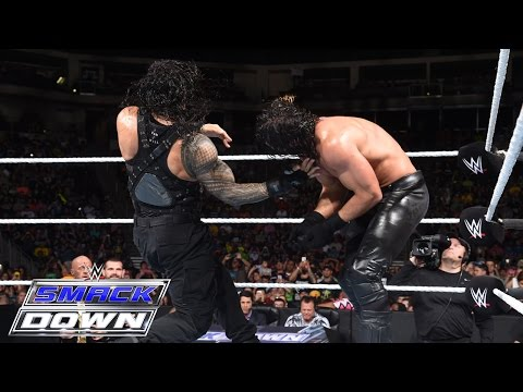 Roman Reigns vs. Seth Rollins: SmackDown, July 2, 2015