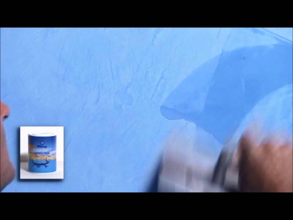 Mil colores aplicaci n estuco veneciano youtube - Estuco veneciano colores ...