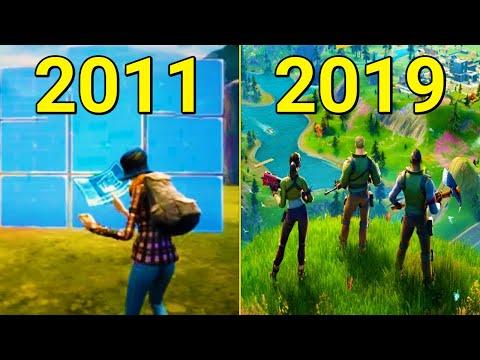 Evolution of Fortnite 2011-2019
