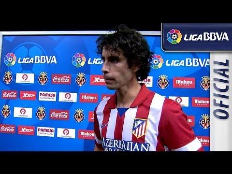 Entrevista a Tiago tras el Villarreal CF (1-1) Atlético de Madrid - HD