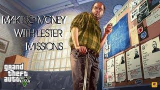 Grand Theft Auto 5 Making Money: Stock Market Lester