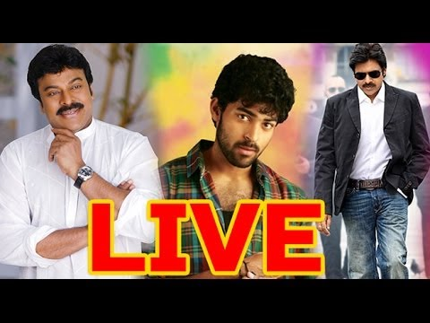 LIVE-Varun Tej's Debut Movie Launch by Mega and Power STAR