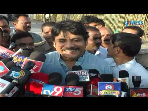 Actor Nagarjuna in Tirupati for Lord Balaji Darshan