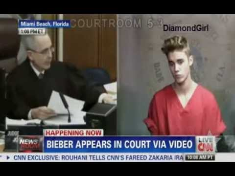 Justin Bieber Appears in Court- DUI Arrest 2014 -  YouTube