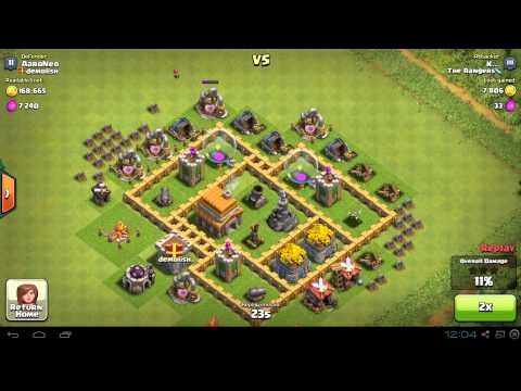 BEST Town Hall Level 5 (TH5) Base Defense Design Layout Strategy for Clash of Clans