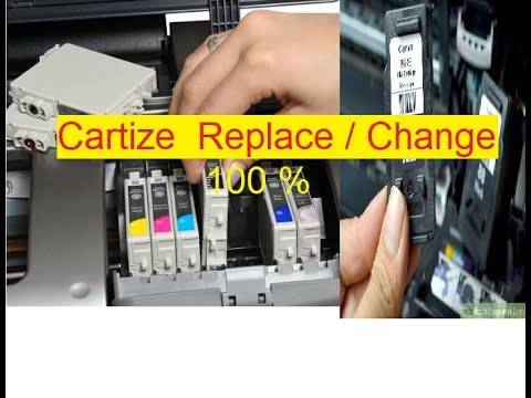 how to Canon Catrige  replace 2000/3000/2010