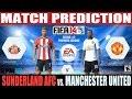 FIFA 14: Sunderland AFC vs. Manchester United Match Prediction Fecha #2 EPL