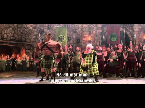Brave - Công chúa tóc xù - Trailer - MegaStar Cineplex