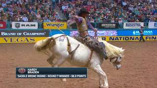 2017 Wrangler NFR Round 7 Highlights