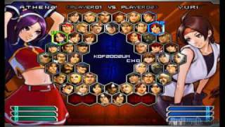 King Of Fighters 2002: Unlimited Match (PS2) Match-Movie