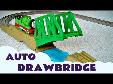 Thomas The Tank Engine Thomas & Friends Trackmaster RAISE & LOWER DRAWBRIDGE
